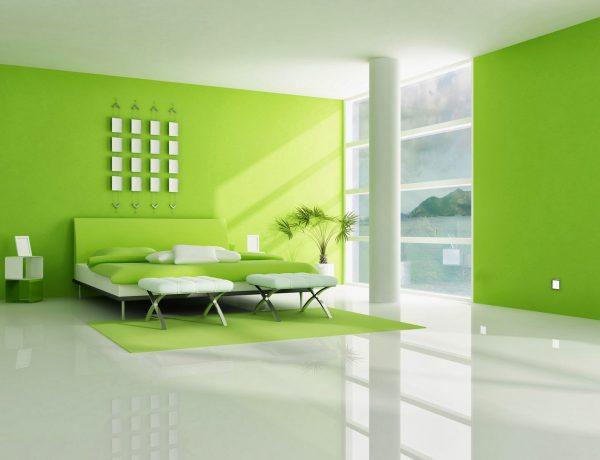 interior-de-casa-en-color-verde-limon-fondos-pantalla_bedrooms-painting-color